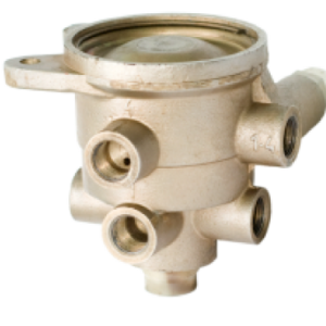 Воздухораспределитель тормозов прицепа для двухпроводной тормозной системы 11.3531010-71